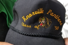 1950 Knoxville Panthers Hat belongs to Bill Liike
